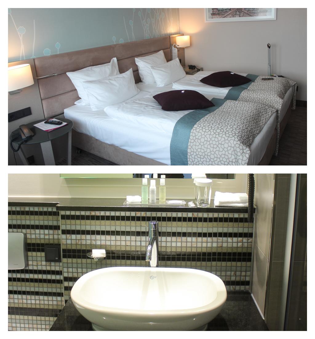Crowne Plaza City Centre, Hotel, Hotelbericht, Reisebericht, Zimmer, Badezimmer, Einrichtung